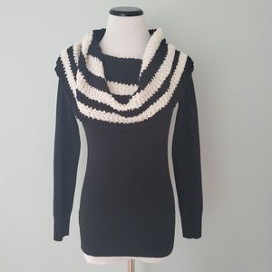 WHBM Cowl Sweater